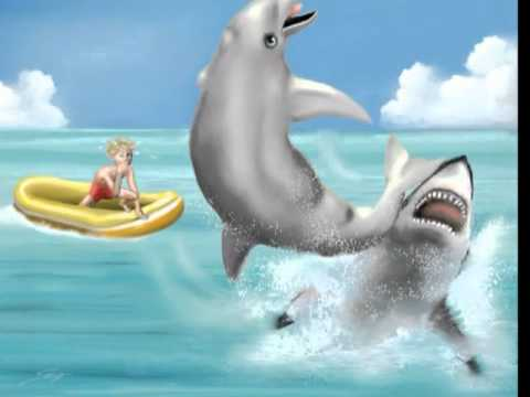 Childrens's Book -  Daisy the Different  Dolphin  - www.susigalloway.com