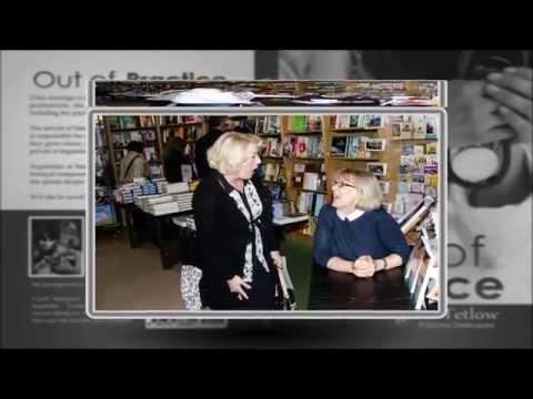 Carol Margaret Tetlow at Waterstones bookshop (Harrogate)