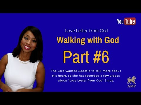Love Letter from God: (Part # 6)  Spend the Day with Me - Apostle Michelle
