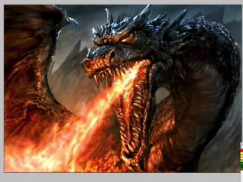 speedpainting dragon