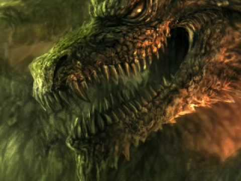 speedpainting dragon (green)