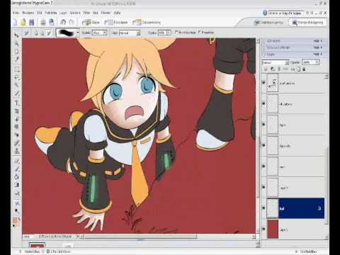 Drawing Rin and Len - Better then you.
