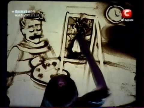 Kseniya Simonova's Amazing Sand Drawing 2