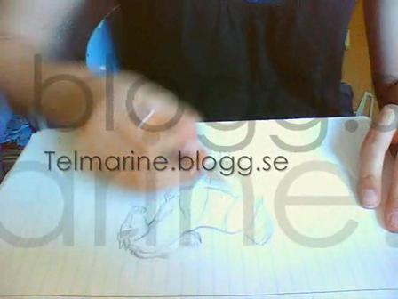 Teckna häst- Telmarine.blogg.se