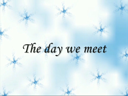 The day we meet