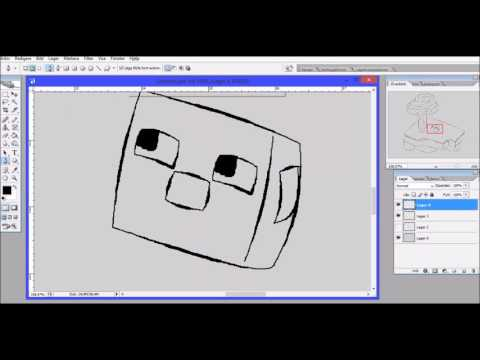 Minecraft speed paint (Gerbinio)