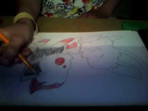Zora and Eevee speed painting