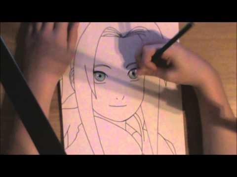 Naruto Drawing 1: Sakura Haruno