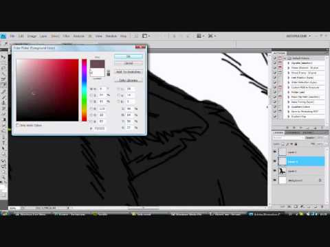 Wolf speedpaint drawing Kyame