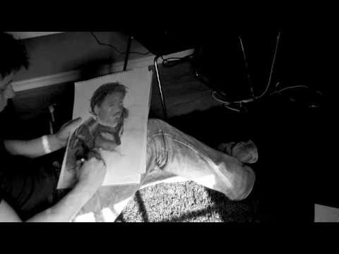 Speed Drawing - Robert Downey Jr. - Iron Man
