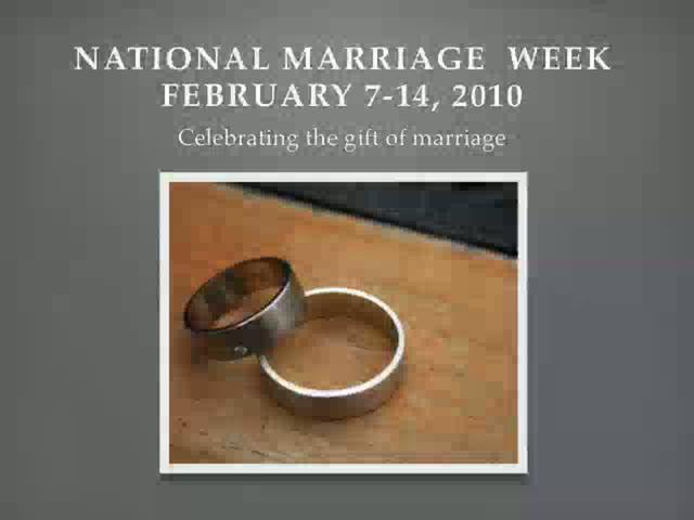 National Marriage Week in Long Beach, CA