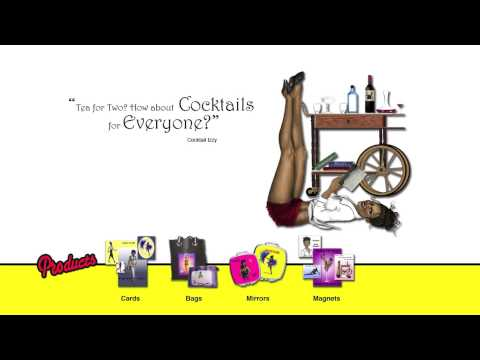 Black Pinup Girl-Themed Gift Store Noir A-Go Go Shows And Tells