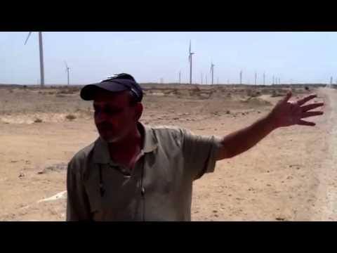 Pakistan's wind farm , Fauji fertilizer Jimpir  50mw my Sal