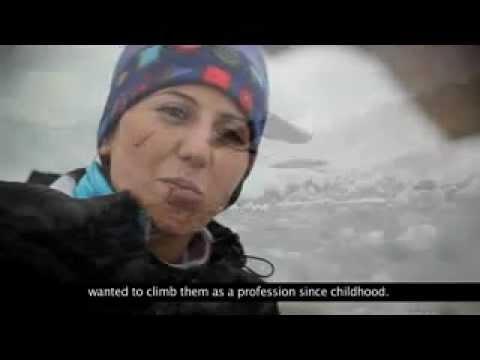 Pakistani Female Mountaineer *Samina Baig* Sets A Record