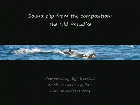 The Old Paradise - composed by Egil Kapstad