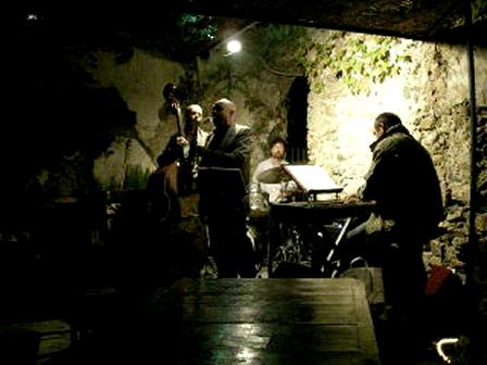 Video of Livio & Silvano Quartet in Bussana Vecchia