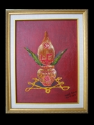 Framed Kalash with Aum