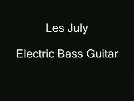 Les July Bass Guitar