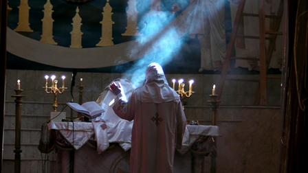 Coptic Liturgy at Dier El Anba Bishoy