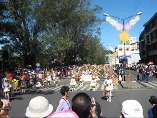 panagbenga 2009/ flower festival/baguio city,street dancing