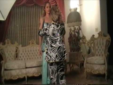DESIGNER TATYANA PETER * BEHIND THE SCENES FASHION PHOTO SHOOTING* WITH ACTRESS MONICA GARNICH - ST…