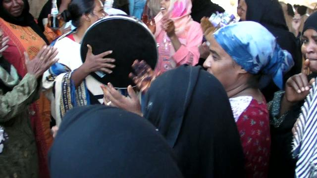 Wedding Celebration, Egyptian Village near Kom Ombo