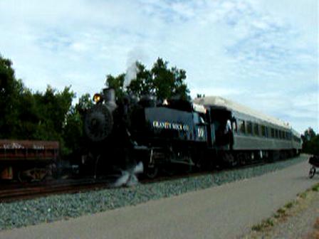 steam train gets rolling