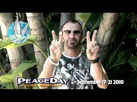 Ringo Starr- PeaceDay.TV Message