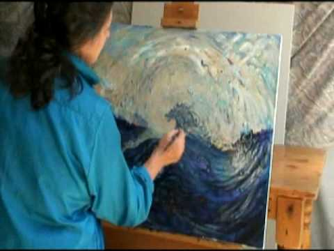 Creating a Shamanic Painting / Inner Strength