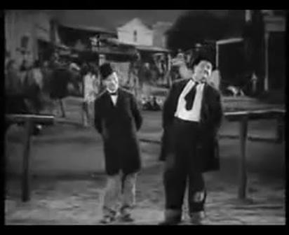 Laurel and Hardy meet Santana