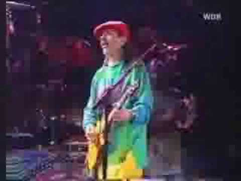 a wonderful musical day with Carlos Santana