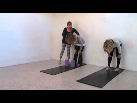 1 hour free hatha yoga home practice, by Oona Giesen.