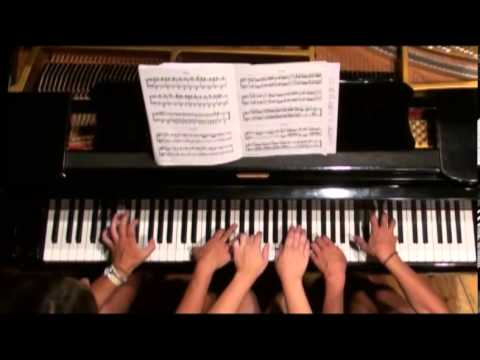 """6 Hands on a Piano"" Concert trailer / Θαλλασίην Σάλπιγγα Αρχίλοχος 2013"
