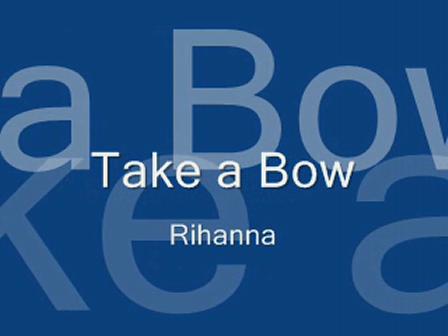Rihanna-Take a Bow