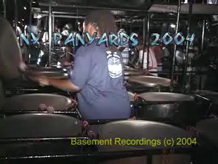 Pan in New York 2004 - steelband panyard performances
