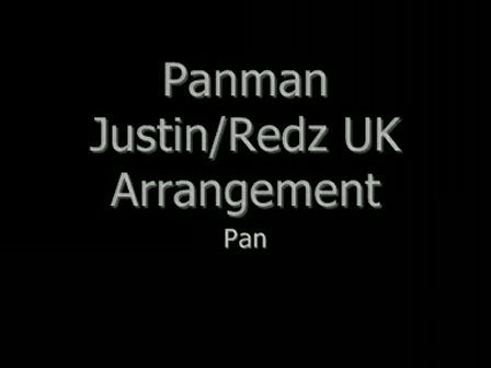 Panman Justin Red UK Arrangement Pan In A Minor