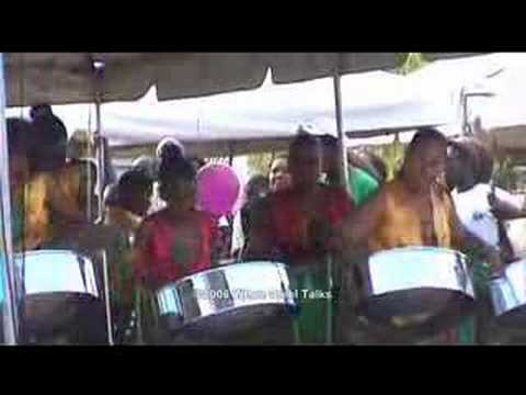 Dominica's Brizee's Cultural Drama Club - WST Steelband Ch
