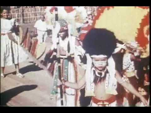 Ole Time Carnival in Trinidad and Tobago in 1959  - part one