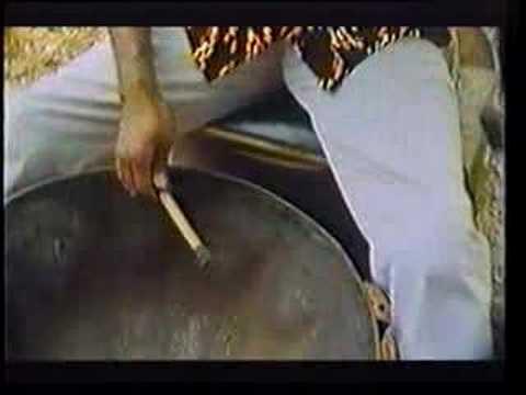 Making a Steel Drum Steel Pan Tenor Pan