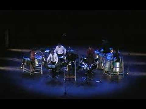 Panash Steelband plays J.S.Bach