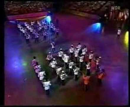 The Trinidad and Tobago Police Band at Tattoo in Berlin, 2003 (Featuring the Steelband)