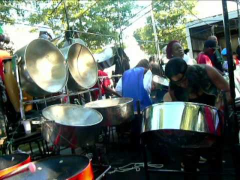 Boston Metro Steel Orchestra -Full Rehearsal before J'ouvert 2010
