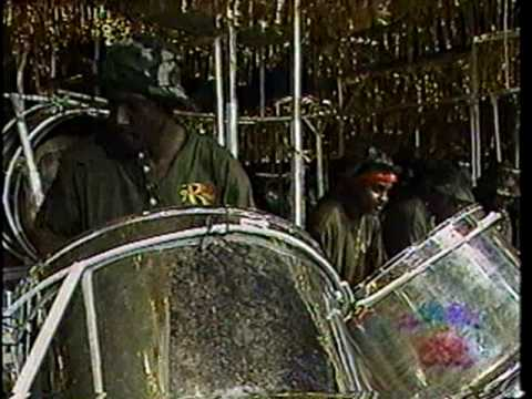 """Renegades Steel Orchestra - Lord Kitchener's """"Toco Band""""(1999) arranged by Jit Samaroo."""