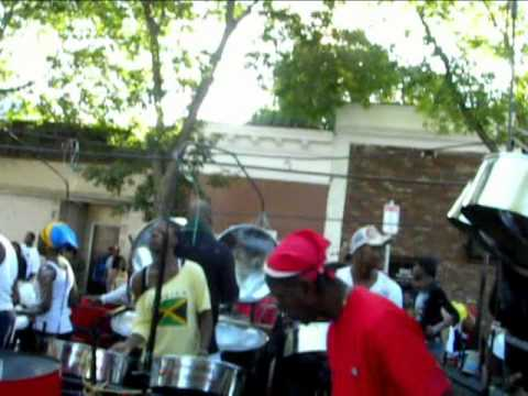 Boston Metro Steel Orchestra at Boston Carnival J'ouvert 2010