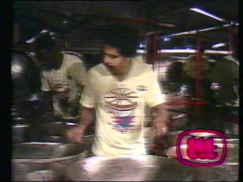 "RENEGADES STEEL ORCHESTRA - Baron's ""Somebody"" arranged by Jit Samaroo(1989)"