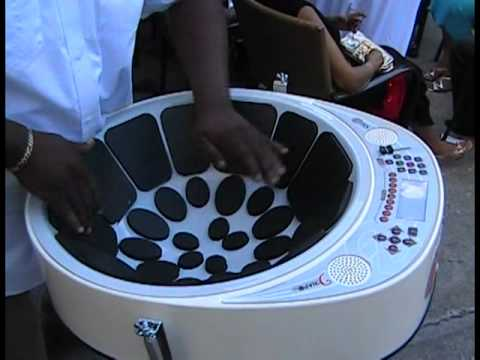 MOST VERSATILE STEELPAN EVER. TRINIDAD AND TOBAGO.