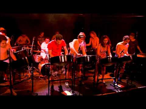 """Tobago Jam"" by Panergy Steel Orchestra from Austria"