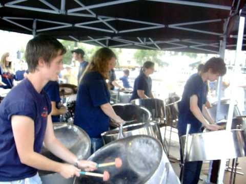 Sounds of Steel in Trafalgar Square MJ tribute