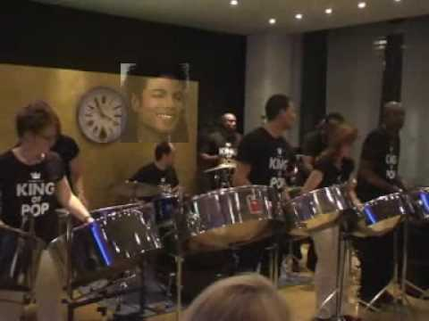 Michael Jackson Medley  on Steeldrums Steelband Another Phase Junior Edwards