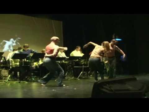 NYU Percussion Studio/NYU Steel performs Glass Etude #5